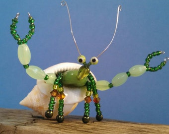 Beaded critters, Hermit crab