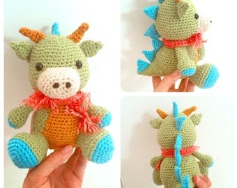 Dragon Crochet Doll Amigurumi