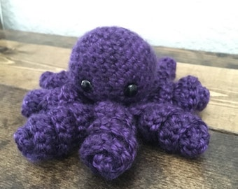 Custom Amigurumi Octopus