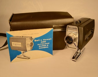 Bell & Howell 430 Autoload Super 8 Camera