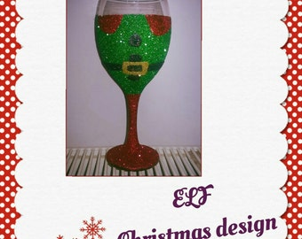 Unique Green Glass Tumblers Related Items Etsy
