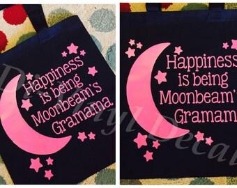 Custom grandma tote bag