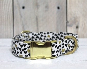 All Things Hearts Dog Collar