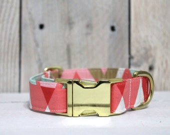 Glitz & Glam Geometry Dog Collar