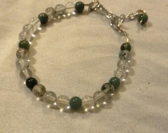 Mossy Agate bracelet