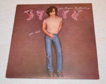 John Cougar Mellencamp Vinyl LP Record Album RVL 7504