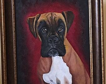 Exclusive custom pet portrait
