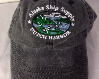 Vintage Dutch Harbor Alaska Dad Hat