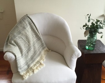 Antique French Craupad armchair