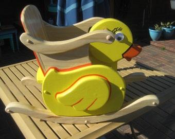Child Toddler Rocker Newborn Duckie