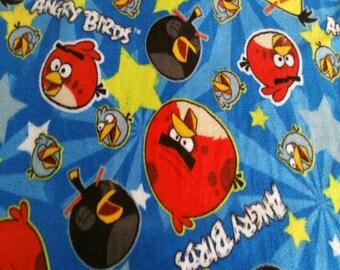 Angry Birds Fleece Fabric (1&3/8 YARD PIECE)