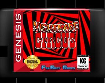 "SPECIAL ORDER! ""Nightmare Circus"" Unreleased Sega Genesis Horror Platformer!"
