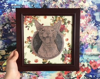 LIMITED Cat Framed Print