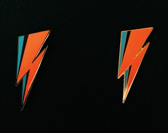 Handmade David Bowie Aladdin Sane Hard Enamel Lapel Pin