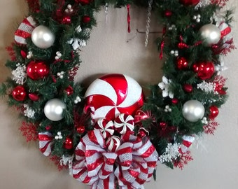 Wreaths made from 100% Recycled Materials