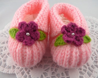 Baby Slippers flowers