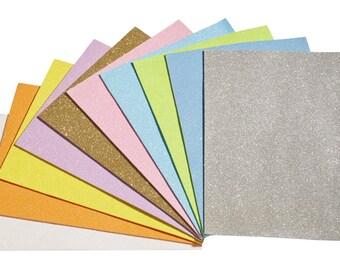 MICA-glitter foam range DIN A4, 10 sheets, approx. 2 mm thick