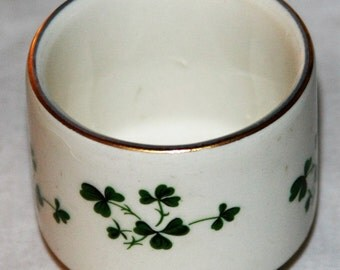 REDUCED!! Carrigaline both stamped and marked Irish Porcelain Sweet Little Shamrocks Cup