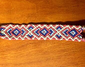 Child Size Handmade Woven Tribal Friendship Bracelet