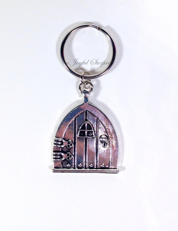 Sale door key chain fairy wish door keychain by for Fairy door with key