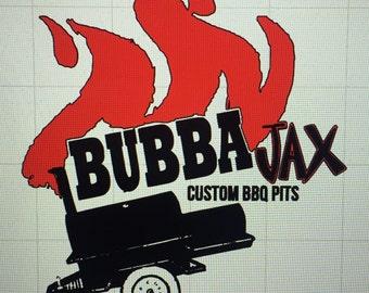 Custom Bubba Jax Logo