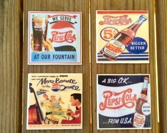 Pepsi Vintage Coasters (set of 4)