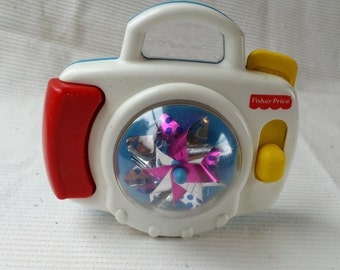 90's Toy ~ Fisher Price ~ Pinwheel Camera ~ 1995 ~ Toddler Toy ~ Baby Toy ~ Spinning Pinwheel ~ Seths Vintage Emporium