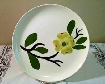 "Stetson Dixie Dogwood by Joni China 9"" Dinner Plate"