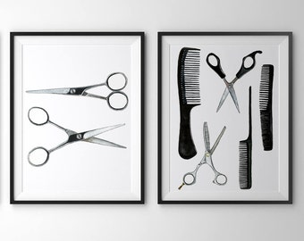 "Shop ""hairdresser gift"" in Art & Collectibles"
