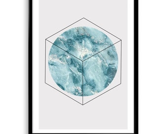 Marble Print, Modern Minimalist Print, Mineral Abstract Print,Top Gift,Printable wall art,Instant Download,Minimal Print, Scandinavian print