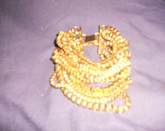 Beautiful Vintage Multi Strand Bracelet