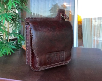 Ministry Messenger Leather Bag
