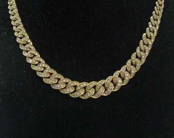 "Barducci 18Kt Diamond Yellow Gold Chain Necklace 16.5"" 5.26CT"