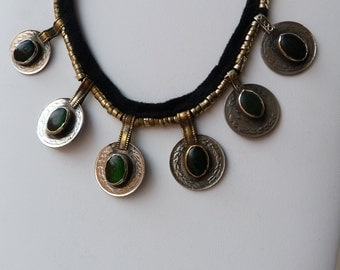 TURKMEN GREEN NECKLACE