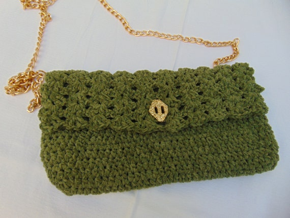 Handmade Knitting Bag Pattern : Handmade Knitted Bag Shoulder Bag Crochet Bags Hand Made