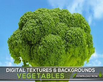 100 Vegetable Photo Overlays, Food Backgrounds, Textures, Vegetable Backgrounds, Potato, Tomato, Garlic, Pepperoni, Onion, Salad