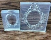 Frame Mold-Silicone Mold -Plaster-Cold Porcelain-Gumpaste-Chocolate-Polymer Clay-Hard Candy-Resin-Ice-Candle Making-Butter-Plaster!