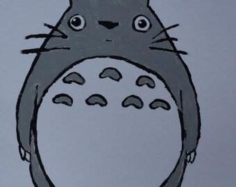 Totoro Card // MyNeighbor Totoro Card