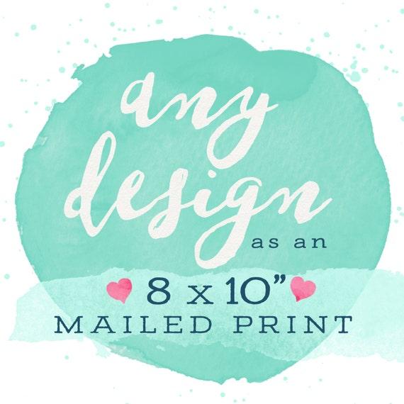 "Adoren Studio - Print & Mail My Design! 8x10"""