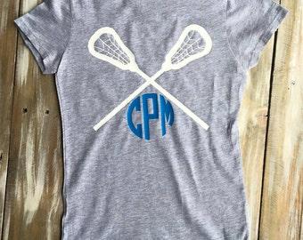 Monogram Girls' Lacrosse Vinyl Shirt
