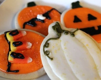 Fall/Halloween Sugar Cookies