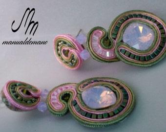Earrings soutache No. 84