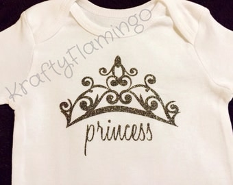 Princess Tiara Infant/Toddler Bodysuit