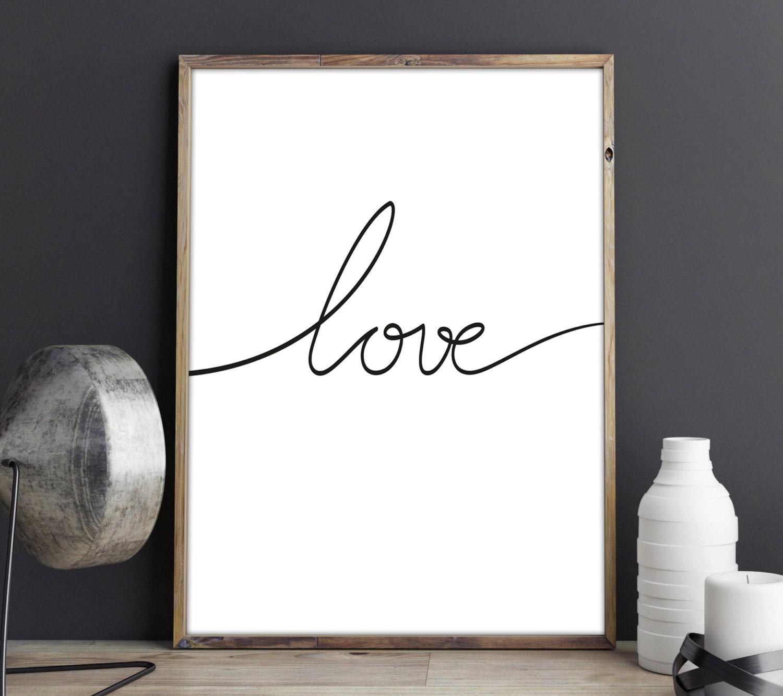 Love lamina decorativa poster decoraci n dormitorio love - Poster decoracion ...