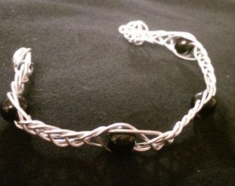 Wire Wrapped Celtic Knot Bracelet
