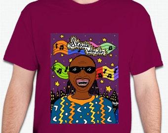 Stevie Wonder Shirt