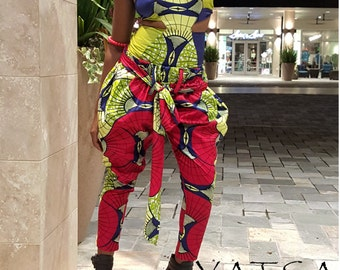 African print Pants only