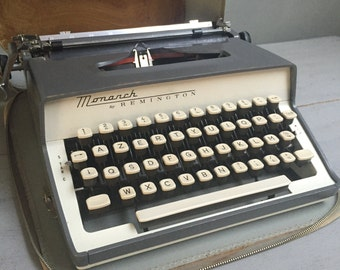 Monarch Remington Typewriter