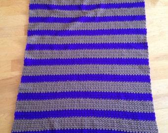 Handmade Crochet Lap Blanket