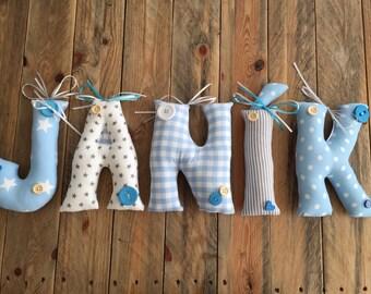 Handnade Letters, Names for Children Nursery
